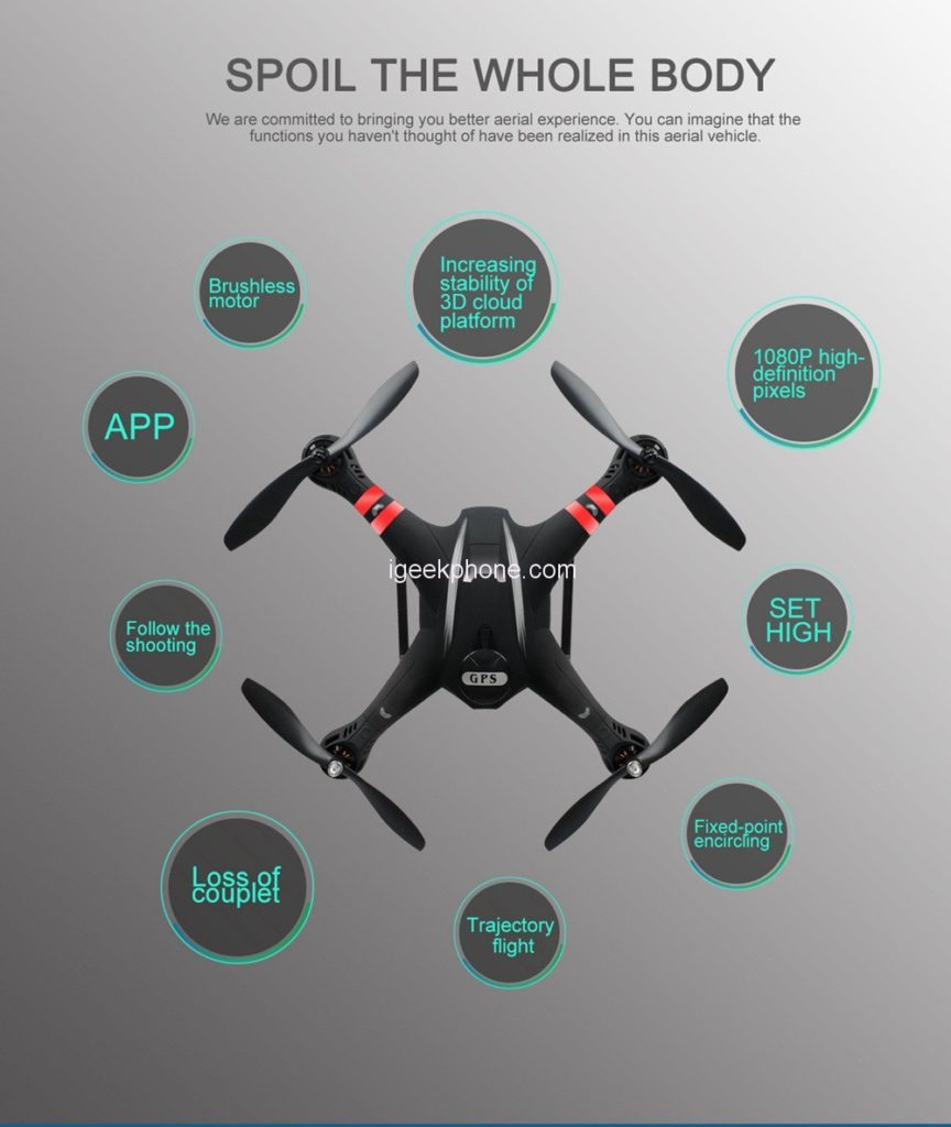 Flycam BAYANGTOYS-X22
