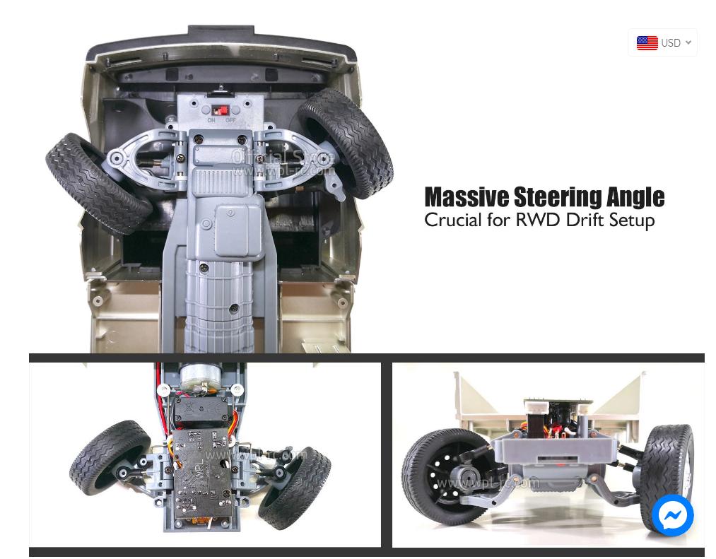 WPL D12 D16 RC xe ô tô mô hình điều khiển từ xa