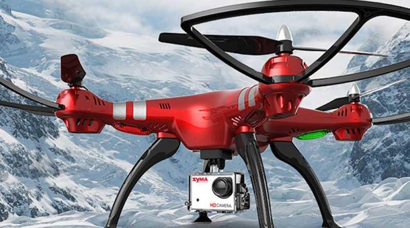 syma x8hg drone flycam camera 8MP