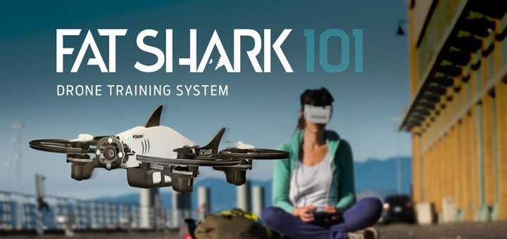 hình ảnh về Flycam Fat Shark 101